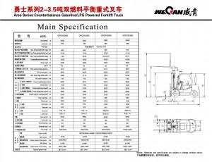 WeCan 2-3.5T Mitsubishi спецификация