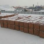 красный кирпич м150 на складе