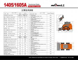 WeCan 1405 1605A спецификация