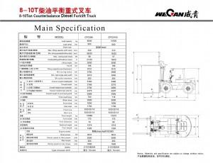 WeCan 8-10T спецификация
